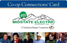 Midstate Electric Co-op Connections Card